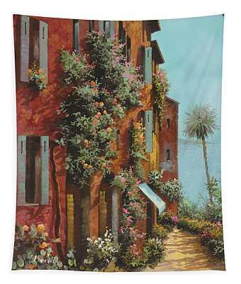 La Strada Verso Il Lago Tapestry