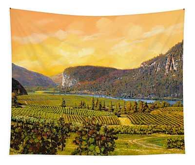 La Vigna Sul Fiume Tapestry