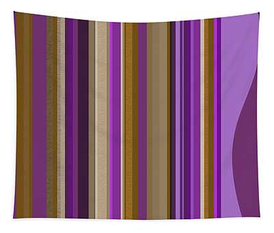 Large Purple Abstract - Two Tapestry