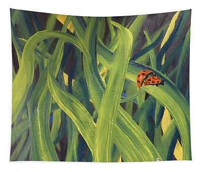 Lady Bugs Tapestry