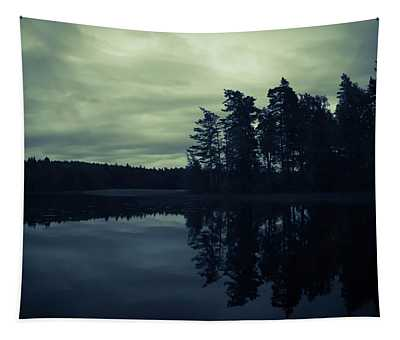 Lake By Night Tapestry