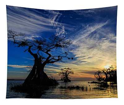 Lake Disston Sunset Tapestry