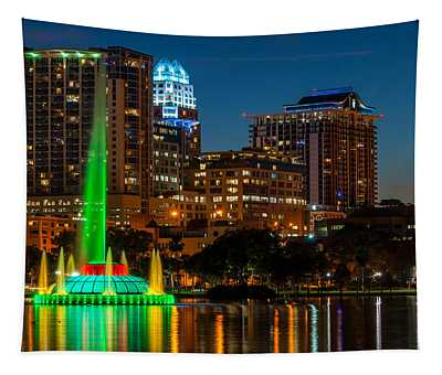 Lake Eola Fountain Tapestry