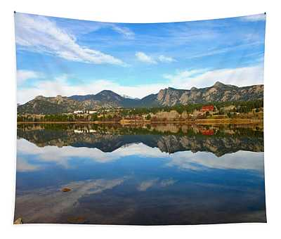 Lake Estes Reflections Tapestry