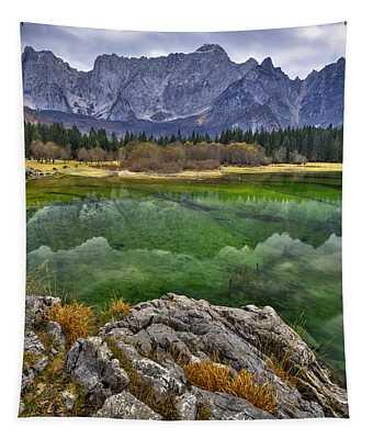 Lake Fusine Tapestry