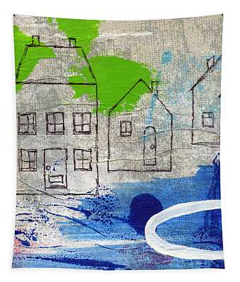 Lake Houses Tapestry