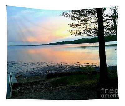 Lake In Virginia Tapestry