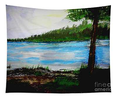 Lake In Virginia The Painting Tapestry