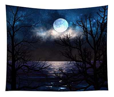 Lake Midnight Tapestry