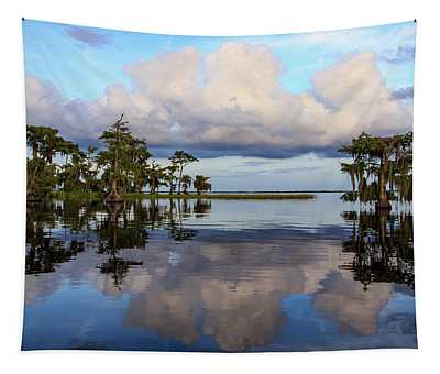 Lake Mirror Tapestry