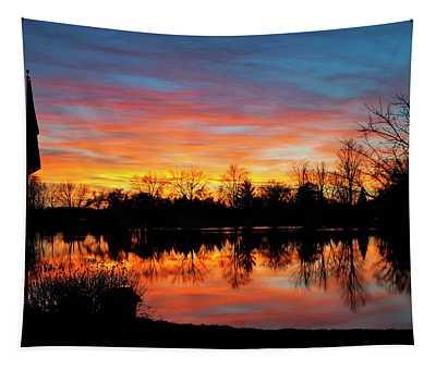 Lake Shangrila Tapestry
