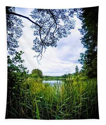 Lake View Tapestry