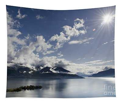 Lake With Islands Tapestry