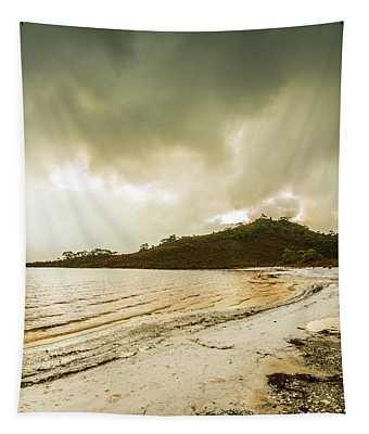 Lakeside At Southwest Tasmania  Tapestry