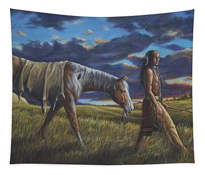 Lakota Sunrise Tapestry