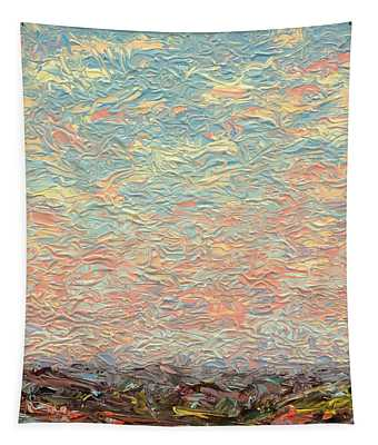 Land And Sky 3 Tapestry
