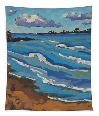 Land Breeze Cumulus Over Chantry Tapestry