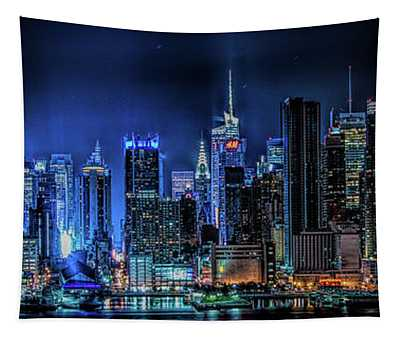 Land Of Tall Buildings Tapestry