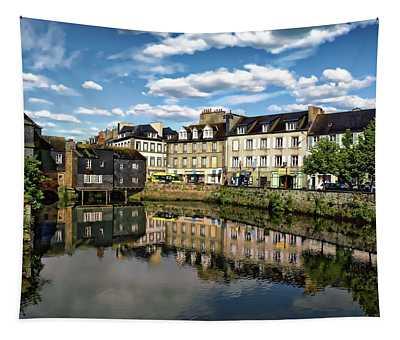 Landerneau Village View Tapestry