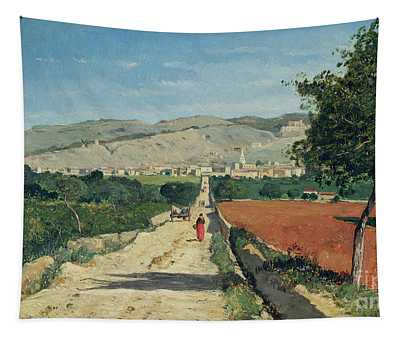 Landscape In Provence Tapestry