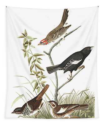 Lark Finch Tapestry