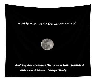 Lasso The Moon Tapestry