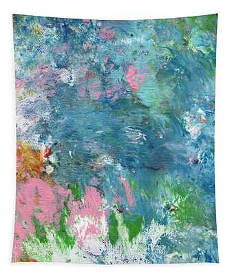 Last Dance- Abstract Art By Linda Woods Tapestry