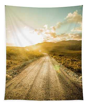 Last Light Lane Tapestry
