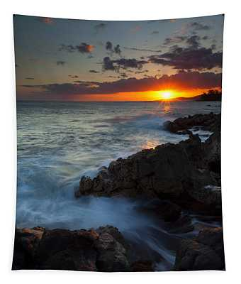 Last Light Over Paradise Tapestry