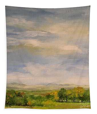 Late Afternoon In Vermont  Tapestry