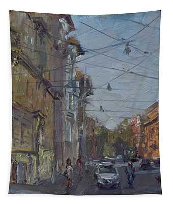 Late Afternoon Light - Regina Margherita -rome Tapestry