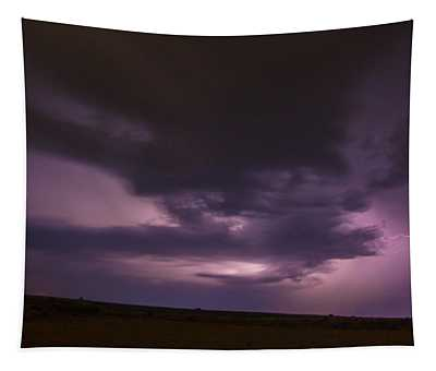 Late July Storm Chasing 028 Tapestry