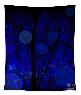 Late Night Fairy Flight Tapestry