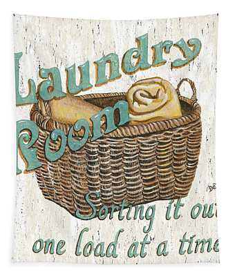 Laundry Room Sorting It Out Tapestry