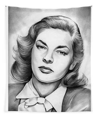 Lauren Bacall Tapestry