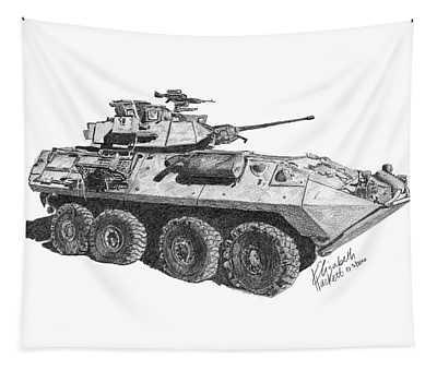 Lav-25 Tapestry