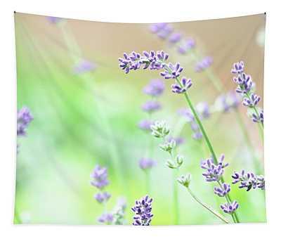 Lavender Garden Tapestry