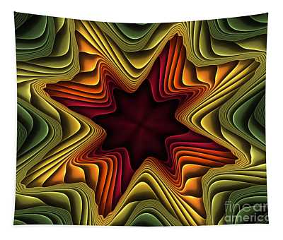Layers Of Color Tapestry