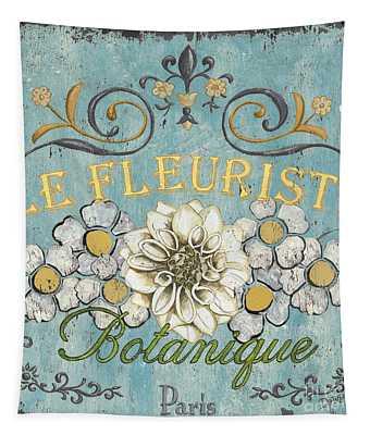 Le Fleuriste De Botanique Tapestry
