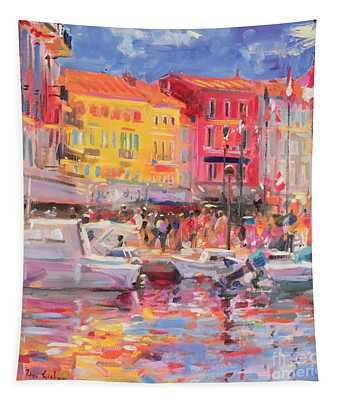 Le Port De St Tropez Tapestry
