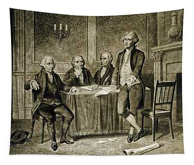 Leaders Of The First Continental Congress Tapestry