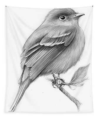 Least Flycatcher Tapestry