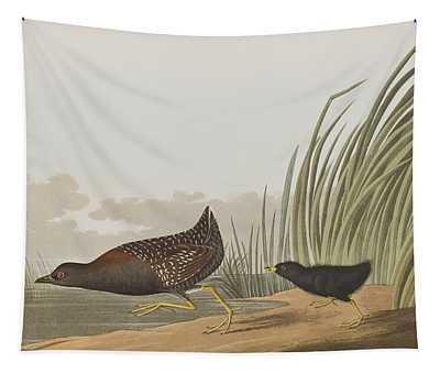 Least Water Hen Tapestry