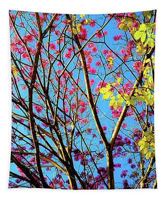 Leaves And Trees 980 Tapestry