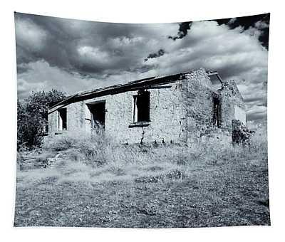 Left In Ruin Tapestry