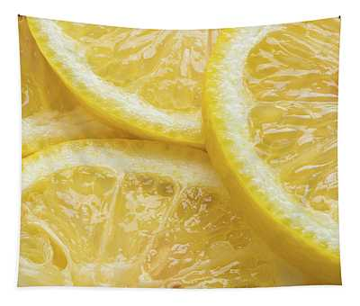 Lemon Slices Number 3 Tapestry