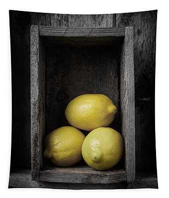 Lemons Still Life Tapestry