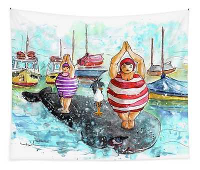 Les Belles De Fowey 03 Tapestry