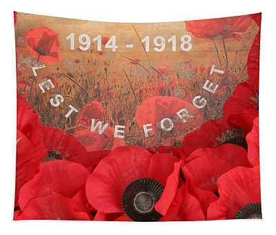 Lest We Forget - 1914-1918 Tapestry