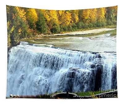Letchworth State Park Middle Falls Autumn Tapestry